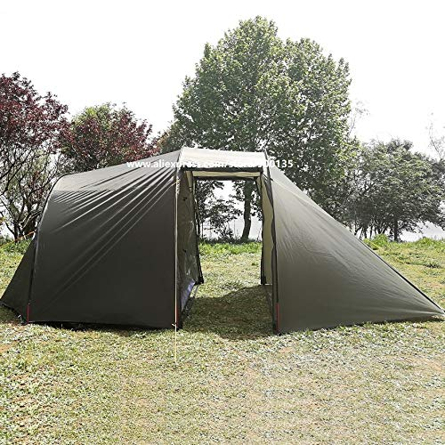 Mdsfe Outdoor Portable WaterproofCamping Motorcycle Tent with Motorcycle Storage for 2 Person - France