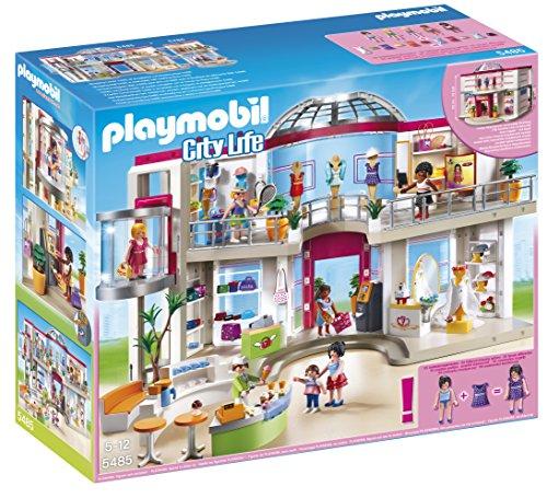 Playmobil Centro Comercial - City Life Centro Comercial, Playsets de Figuras de jugete (Playmobil 5485)