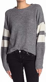 John + Jenn Women's Medium Striped Pullover Sweater
