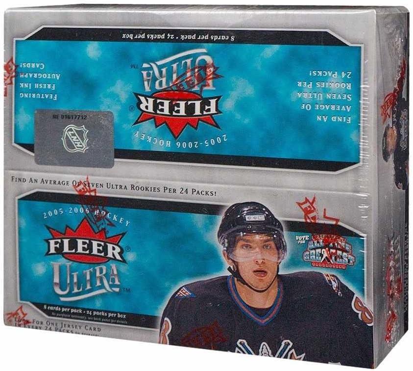 2005-06 Fleer Ultra Hockey 24ct Selling rankings Box Retail Regular discount