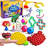 Ecoffer Fidget Pack,Stress Relief Toy Set with Funny and Novelty Anxiety Relief Toys,Fidget Box for Fidget Kids and Adults.