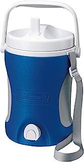 Coleman Termo Dosificador Performance Jug, Capacidad de 3,8 litros, Nevera pequeña portatil, Enfriador de Agua Fria, Unisex-Adult, Azul, One