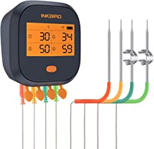 Inkbird WiFi Meat Thermometer IBBQ-4T Waterproof Rechargeable BBQ Grill Magnetic