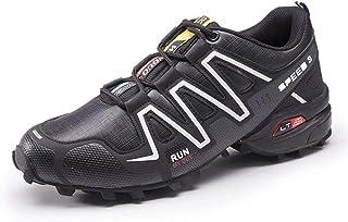 Fietsschoenen Voor Heren, Racefietsschoenen Mountainbike Fiets MTB-schoenen, Antislip en Ademende Casual Hardloopschoenen,...