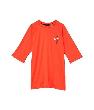 Nike Kids Shark Short Sleeve Hydroguard (Little Kids/Big Kids)