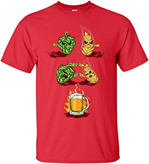 Funny Brew Beer Fusion Malted Barley Hops T-Shirt