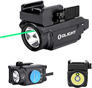 Image of OLIGHT Baldr Mini 600 Lumen Pistol Light and Green Laser Combo (Class IIIA <5mw Safe Laser Output, PL-Mini 2 Combo) Tactical LED Flashlight Magnetic Rechargeable with Built-in Battery