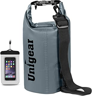 Unigear Dry Bag Waterproof, Floating and Lightweight Bags for Kayaking, Boating, Fishing, Swimming and Camping with Waterp...
