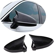 MCARCAR KIT Mirror Cover fits Audi A4 B9 Sline S4 Sedan/Wagon 2017-2019 Add-on ABS Side Rearview Mirror Caps Car Exterior Outside Shell (Carbon Fiber Color)
