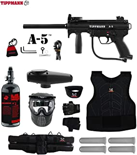 MAddog Tippmann A5 A-5 Starter Protective HPA Paintball Gun Package
