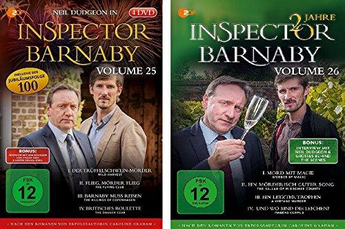 Inspector Barnaby, Vols. 25+26 (8 DVDs)