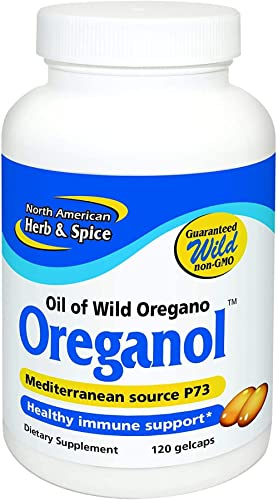 North American Herb and Spice, Oreganol P73 Softgels, 120 Count product image