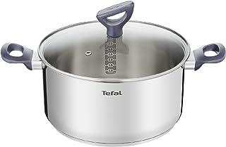 comprar comparacion Tefal Daily Cook - Cacerola acero inoxidable con Tapa de 20 cm, 3 Litros, base reforzada, aptas para todo tipo de cocinas ...