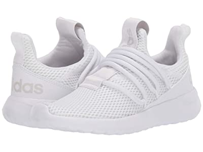 adidas Kids Lite Racer Adapt 3.0 (Little Kid/Big Kid) (Footwear White/Footwear White/Grey One) Kids Shoes