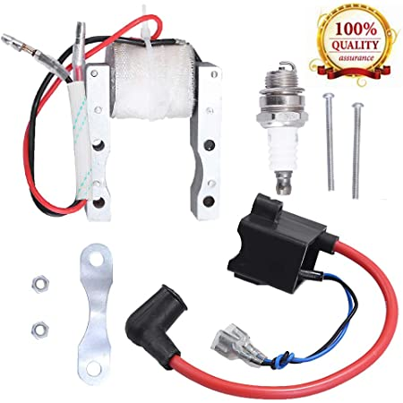 Magneto Coil for 49cc 50cc 60cc 80cc 2-Stroke Engines Motor Motorized Bicycle Bike CDI Ignition Coil
