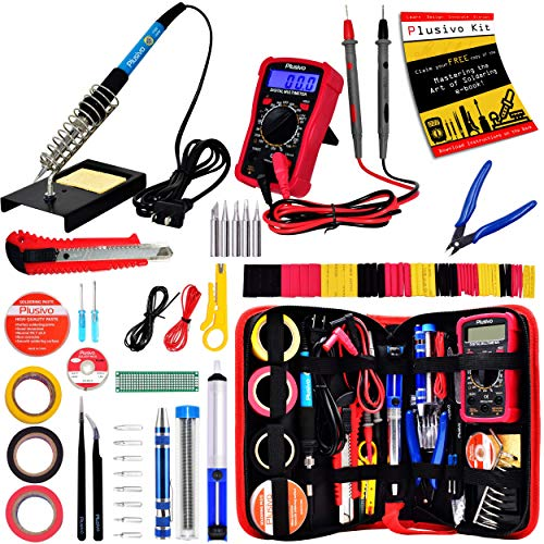 Buy Cheap Soldering Iron Kit - Soldering Iron 60 W Adjustable Temperature, Digital Multimeter, Wire ...