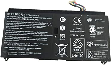 7XINbox 7.5V 47wh 6280mAh AP13F3N Replacement Battery for Acer Aspire S7-392 Ultrabook Series 2ICP4/63/114-2