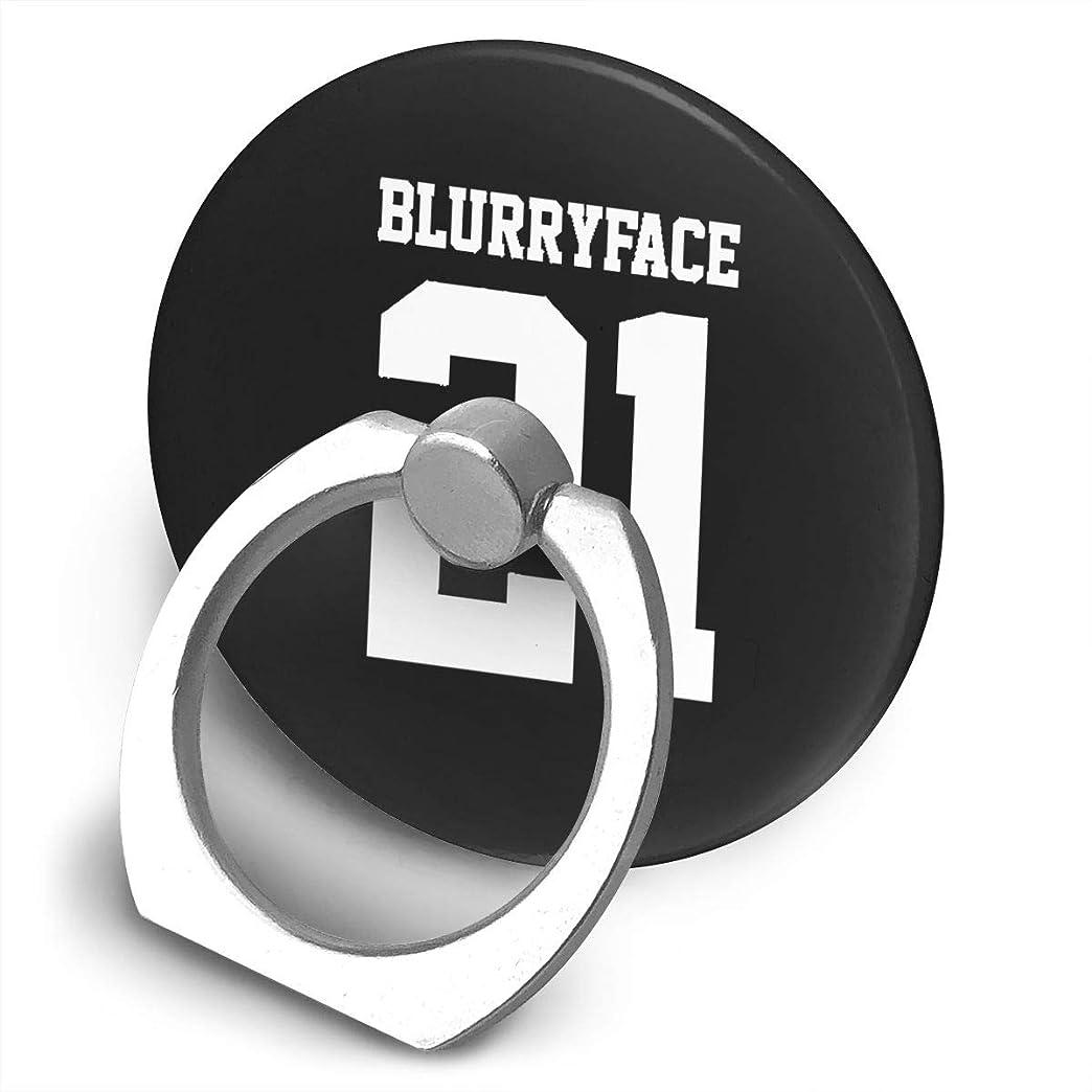 ローズ穏やかなのホストTwenty One Pilots 21 Pilots Blurryface スマホ リング ホールドリング 指輪リング 薄型 おしゃれ スタンド機能 落下防止 360度回転 タブレット/スマホ IPhone/Android各種他対応