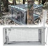 RXLLSY Trampa para Ratas, Ratones Jaula de Animales Vivos Plagas de roedores Control de Ratones Captura de Cebo