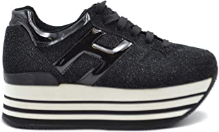 HOGAN Luxury Fashion Womens MCBI38500 Black Sneakers | Season Outlet