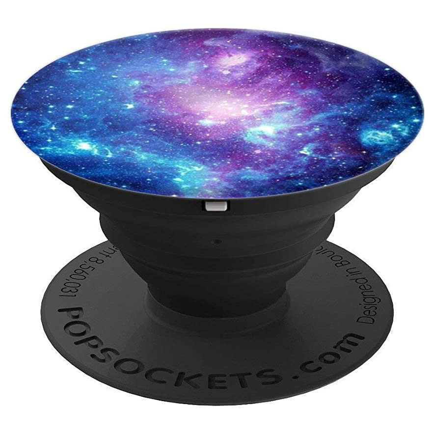 Purple Blue Galaxy Space Nebula Print Phone Accessory - PopSockets Grip and Stand for Phones and Tablets