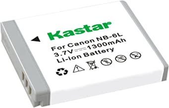 Kastar NB-6L Replacement Battery for Canon PowerShot SD1200 IS, SD770 IS, SD980 IS, Digital IXUS 200 IS / 85 IS / 95 IS, IXY Digital 110 IS, PowerShot D-Series, PowerShot SD-Series, PowerShot S-Series