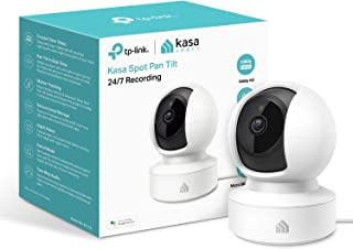 TP-Link Kasa Smart Security Camera, Baby Monitor, 360°rotational Views, No Hub Required, Works with Alexa(Echo Spot/Show&F...