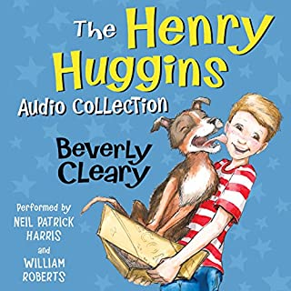 The Henry Huggins Audio Collection                   By:                                                                                                                                 Beverly Cleary,                                                                                        Tracy Dockray                               Narrated by:                                                                                                                                 Neil Patrick Harris,                                                                                        William Roberts                      Length: 15 hrs and 26 mins     850 ratings     Overall 4.7