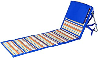 Beaches & Bonfires 91288.0 On The Go Portable Beach Reclining Lounger
