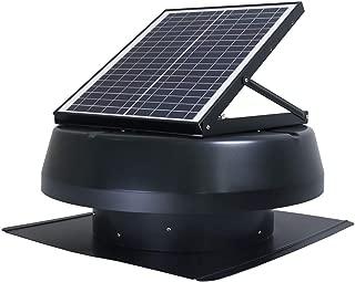 Iliving Smart Exhaust Solar Roof Attic Exhuast Fan 14 Black (Renewed)