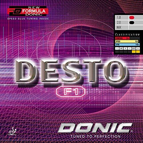 DONIC Desto F1, TT-Belag, NEU, OVP, inkl. Lieferung