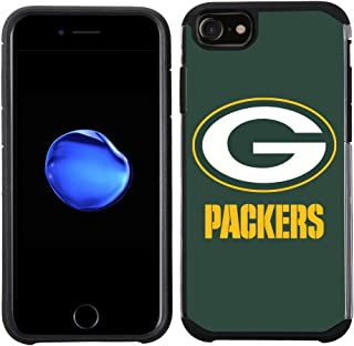 Prime Brands Group Cell Phone Case for Apple iPhone 8/ iPhone 7/ iPhone 6S/ iPhone 6 - NFL Licensed Green Bay Packers Text...