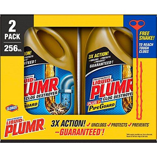 Liquid-Plumr Full Clog Destroyer 2 x 128 oz.