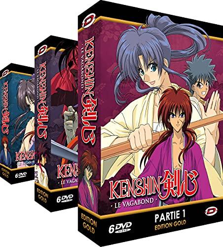 Kenshin le vagabond - Intégrale - Edition Gold - 3 Coffrets (18 DVD + Livrets)