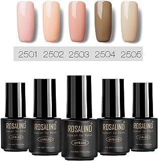 ROSALIND Serie de colores desnudos Esmalte semipermanente u