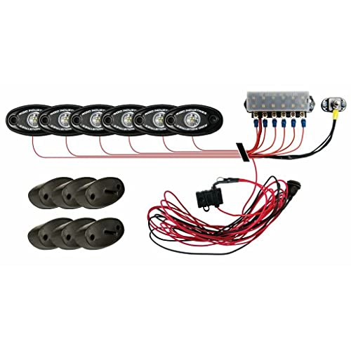rigid lights wiring diagram rigid rock lights amazon com  rigid rock lights amazon com