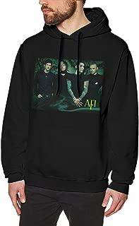 Zblin Mens Hoodie Sweatshirt A Fire Inside AFI Band Style Black