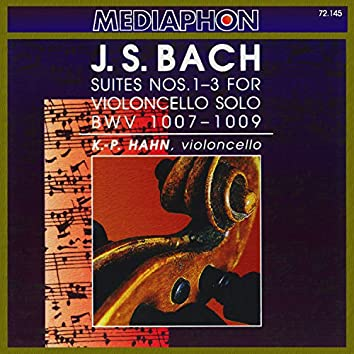 Bach: Suites  for Violoncello Nos. 1-3, BWV 1007-1009