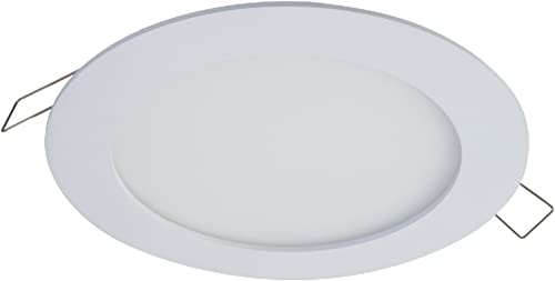 """wholesale HALO SMD6R6927WHDM SMD 6"""" Integrated wholesale LED Recessed Round Trim Downlight Direct Mount 90 outlet sale CRI 2700K CCT, White online"""