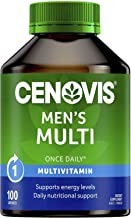 Cenovis Men's Multi - Multivitamin for men - Supports energy levels - Supports healthy immune system, 100 Capsules