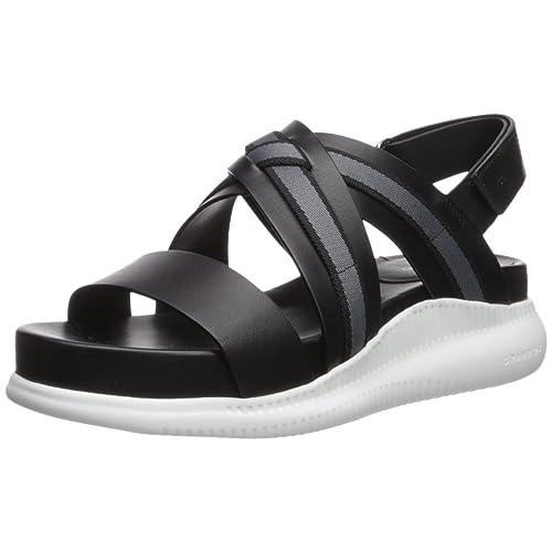 4705c0834 Cole Haan Women s 2.Zerogrand Criss Cross Sandal Flat