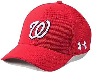 Under Armour UA Men's Washington Nationals MLB Adjustbale Blitzing Baseball Cap