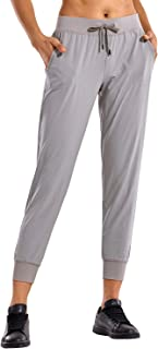 Women's Lounge Jogger Pants with Pockets Light Weight Drawstring Workout Training Pants