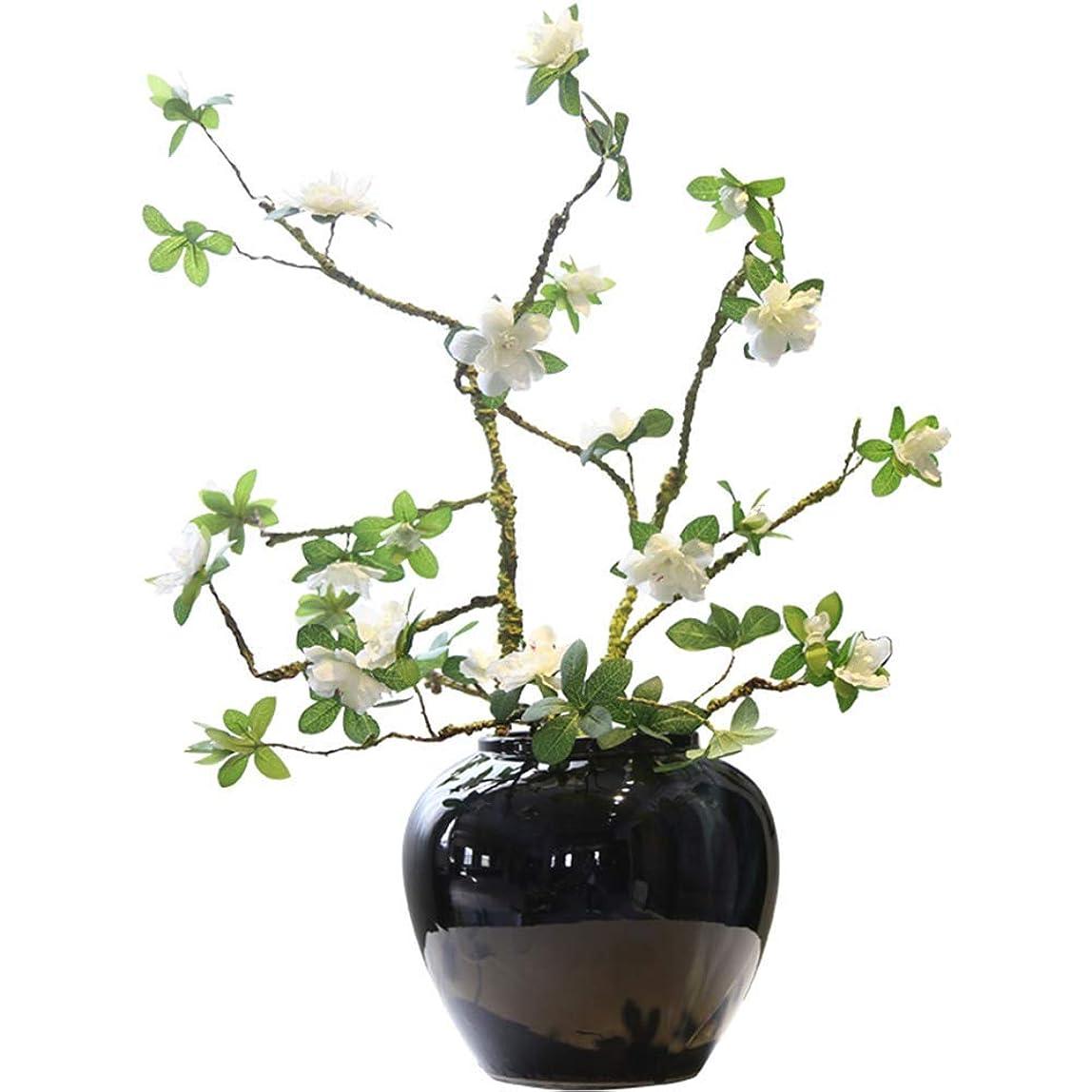 関与するコレクションミッション花瓶 Ceramicceramicポーチテレビキャビネットの靴デスクトップ装飾花人工 インテリア フラワーベース