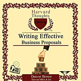 Writing Effective Business Proposals cover art