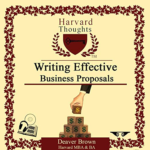 Writing Effective Business Proposals audiobook cover art