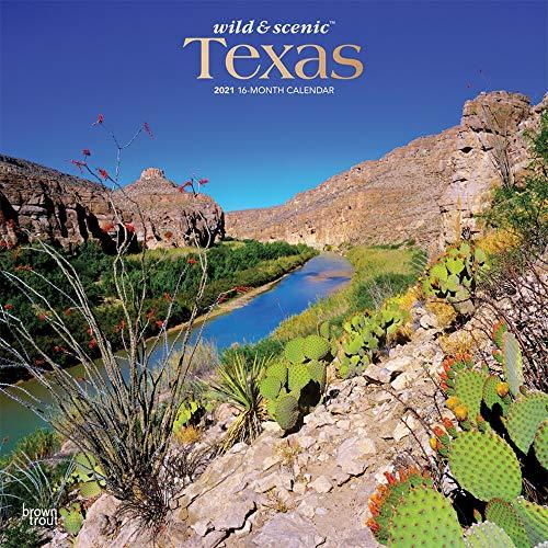Texas Wild & Scenic 2021 - 16-Monatskalender: Original BrownTrout-Kalender [Mehrsprachig] [Kalender] (Wall-Kalender)