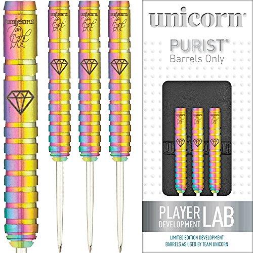 Unicorn Stahl Spitze Darts Set–Maestro–Ian weiß–PURIST–DNA–23G–mit Gratis Darts Ecke Checkout-Karte