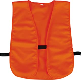Mossy Oak Outdoor Cap Blaze Knit and Vest, 1 Unit, Blaze Orange