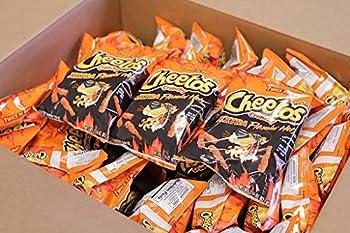 Cheetos XXtra Flamin  Hot Crunchy 2.25 Oz  Pack of 17